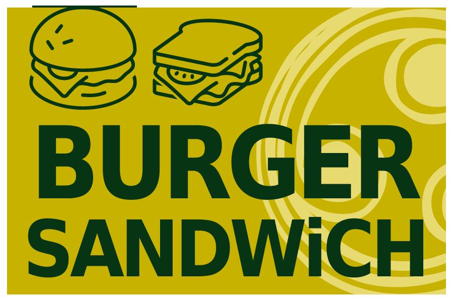 BURGUER & SANDWiCH
